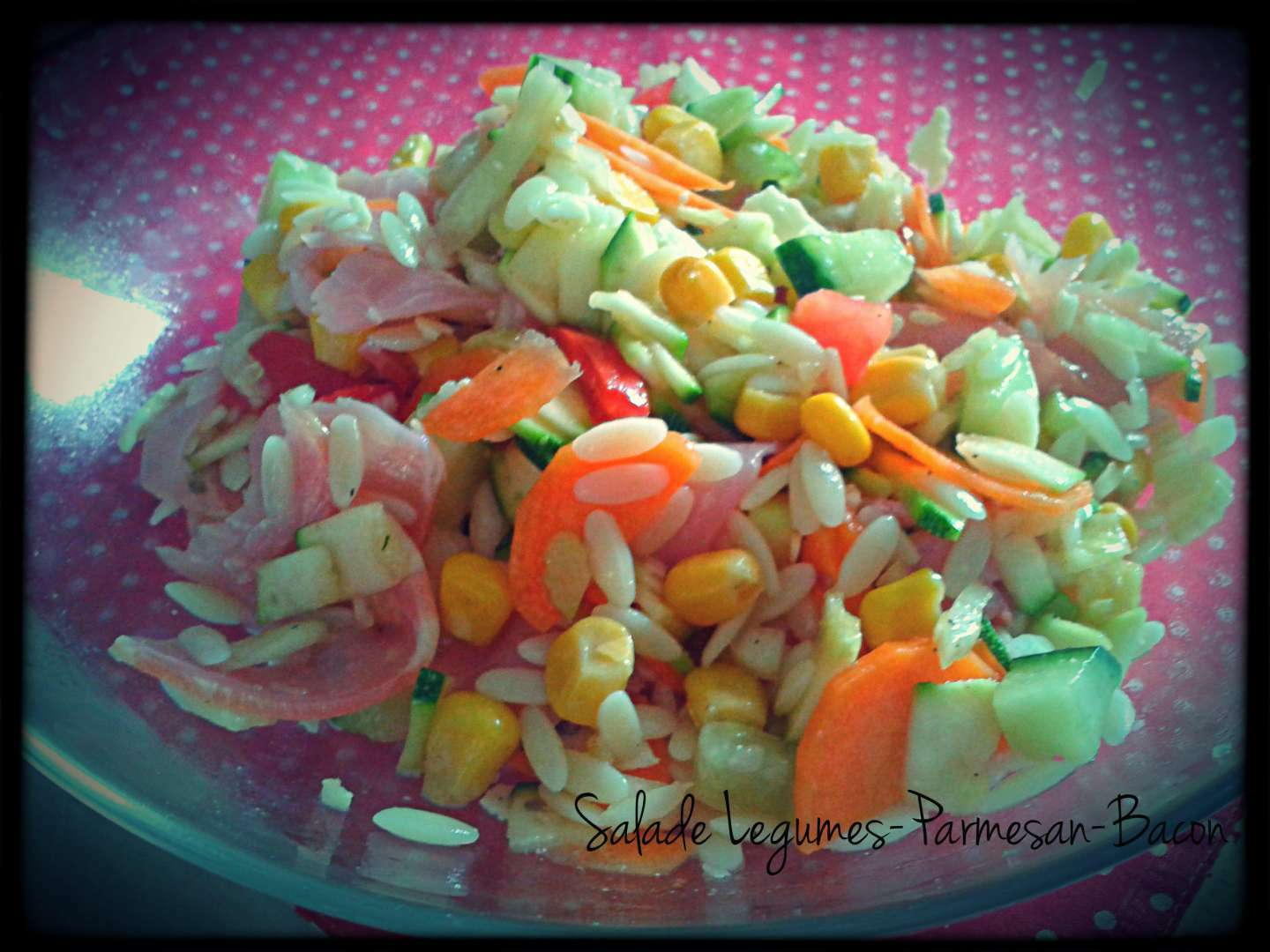 Salade multi l gumes l g re recette ptitchef for Entrees legeres faciles