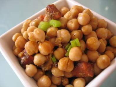 Salade pois chiches au chorizo, Photo 2
