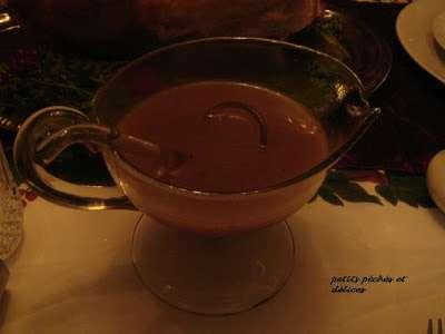 Sauce au velout jus de cuisson de la dinde recette ptitchef - Cuisson dinde de noel ...