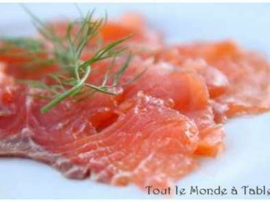 Saumon gravlax : saumon mariné à l'aneth, Photo 2