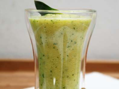 Smoothie ananas, gingembre & persil