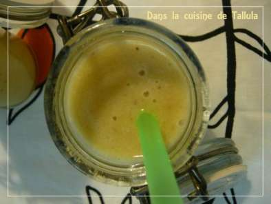 Smoothie banane et gingembre (Défi Placard n#5), Photo 3