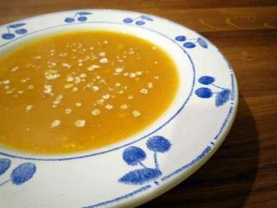 Soupe aux flocons d'avoine
