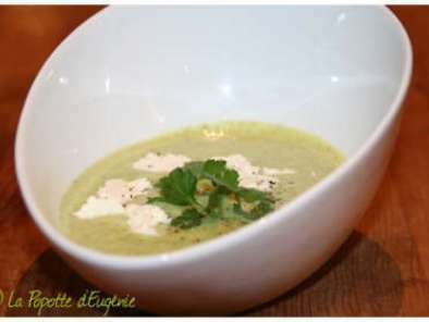 Soupe Courgette, Ail & Fines Herbes