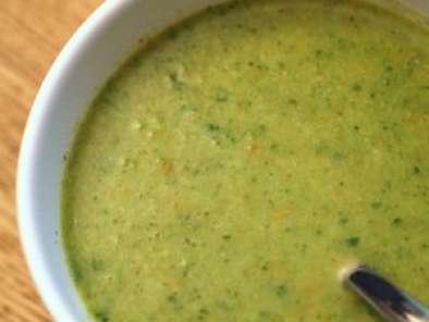 soupe brocolis carotte