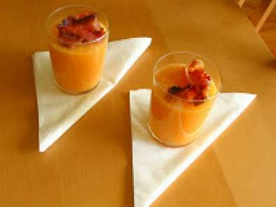 soupe de melon glac e au porto recette ptitchef. Black Bedroom Furniture Sets. Home Design Ideas