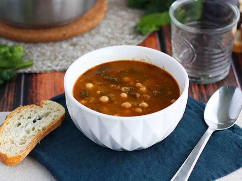 """Résultat de recherche d'images pour """"recette soupe pois chiche espagnole"""""""