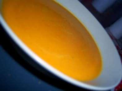 Soupe de potiron au curry et lait de coco recette ptitchef - Soupe potiron lait de coco curry ...