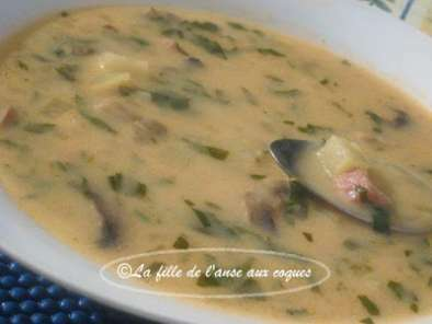 soupe forestiere