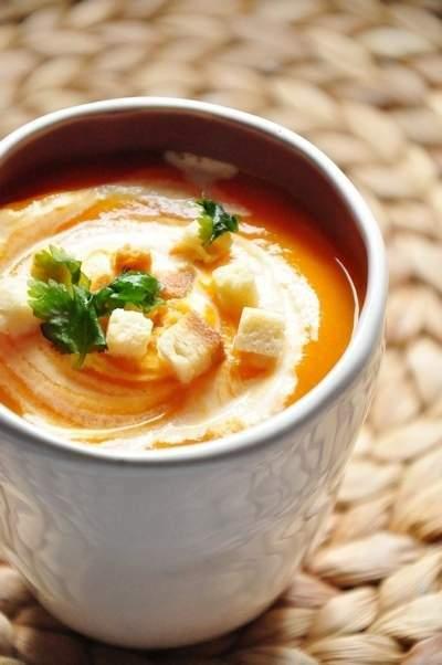 soupe vitamin e la carotte courge orange recette. Black Bedroom Furniture Sets. Home Design Ideas