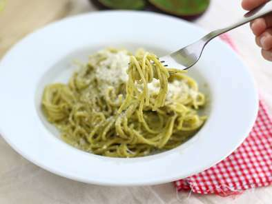 Spaghettis carbonara d'avocat, Photo 3