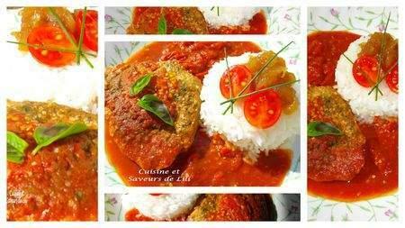steak de thon rouge au coulis de tomate et chutney aux pommes recette ptitchef. Black Bedroom Furniture Sets. Home Design Ideas