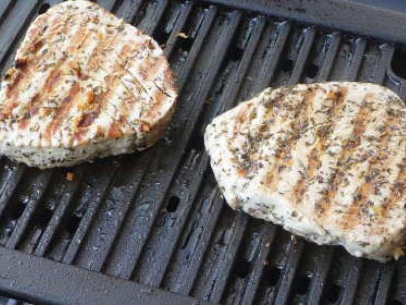 Thon grillé au barbecue facile : découvrez les recettes de