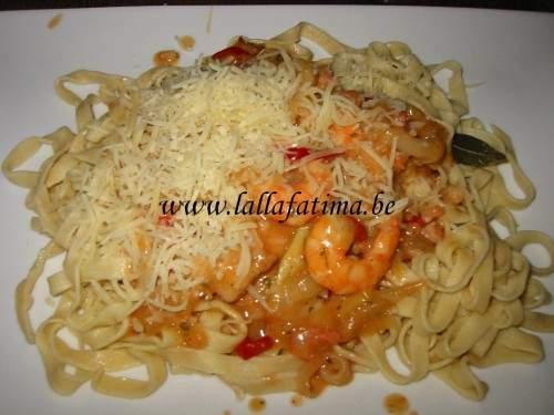 Tagliatelle aux fruits de mer recette ptitchef - Tagliatelles aux fruits de mer recette italienne ...