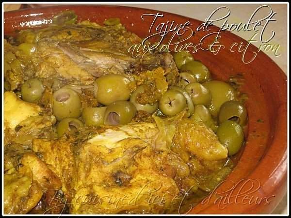 tajine de poulet au citron confit et olives recette ptitchef. Black Bedroom Furniture Sets. Home Design Ideas