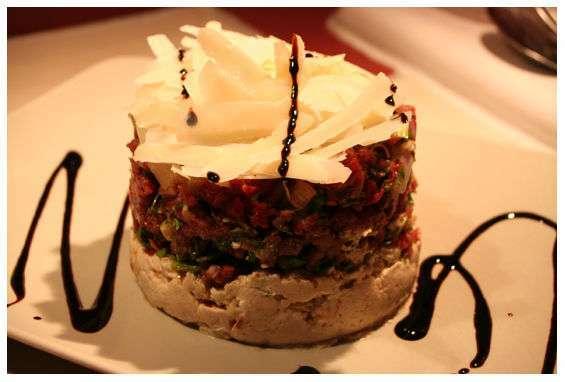 Cake Raclette Chevre