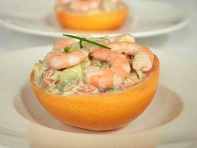 tartare pamplemousse avocat crevettes citron vert wasabi recette ptitchef. Black Bedroom Furniture Sets. Home Design Ideas
