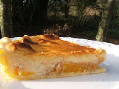 tarte a la mandarine et mascarpone