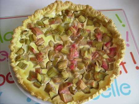 Favori Tarte à la rhubarbe à la pâte feuilletée - Recette Ptitchef II39