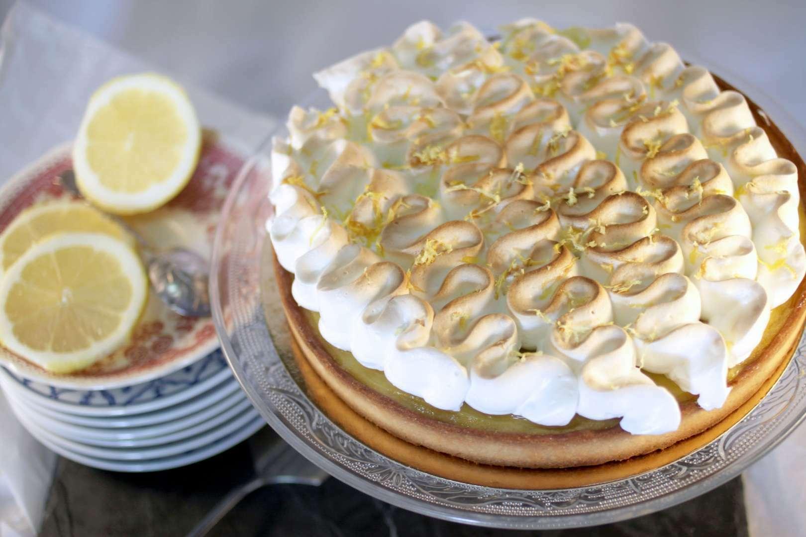 Tarte au citron et meringue italienne recette ptitchef - Tarte au citron facile et rapide ...