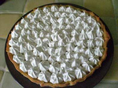 TARTE AU CITRON MERINGUEE, recette facile, Photo 2