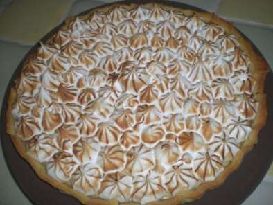 TARTE AU CITRON MERINGUEE, recette facile, Photo 3