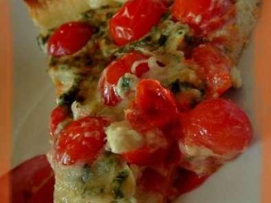 tarte au roquefort et aux tomates cerises recette ptitchef. Black Bedroom Furniture Sets. Home Design Ideas
