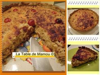 Tarte Aux Deux Saumons Fenouil Et Chou Chinois Recette Ptitchef