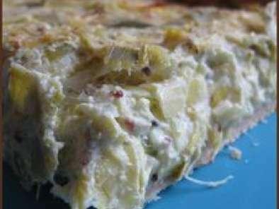Tarte aux poireaux et au curry et au ch vre aussi sans oeufs recette ptitchef - Tarte aux poireaux sans oeufs ...