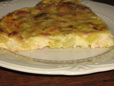 Tarte aux poireaux sans p te recette ptitchef - Tarte aux poireaux sans oeufs ...
