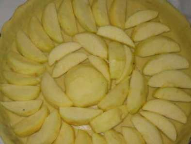 TARTE AUX POMMES A L'ALSACIENNE., Photo 2
