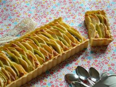 Tarte aux pommes kiwis et la cr me p tissi re ultra - Comment couper des pommes pour une tarte ...