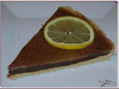 tarte citron chocolat sans four chez gal et la recette de. Black Bedroom Furniture Sets. Home Design Ideas