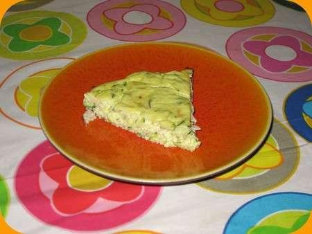 Cake Ricotta Courgette Jambon