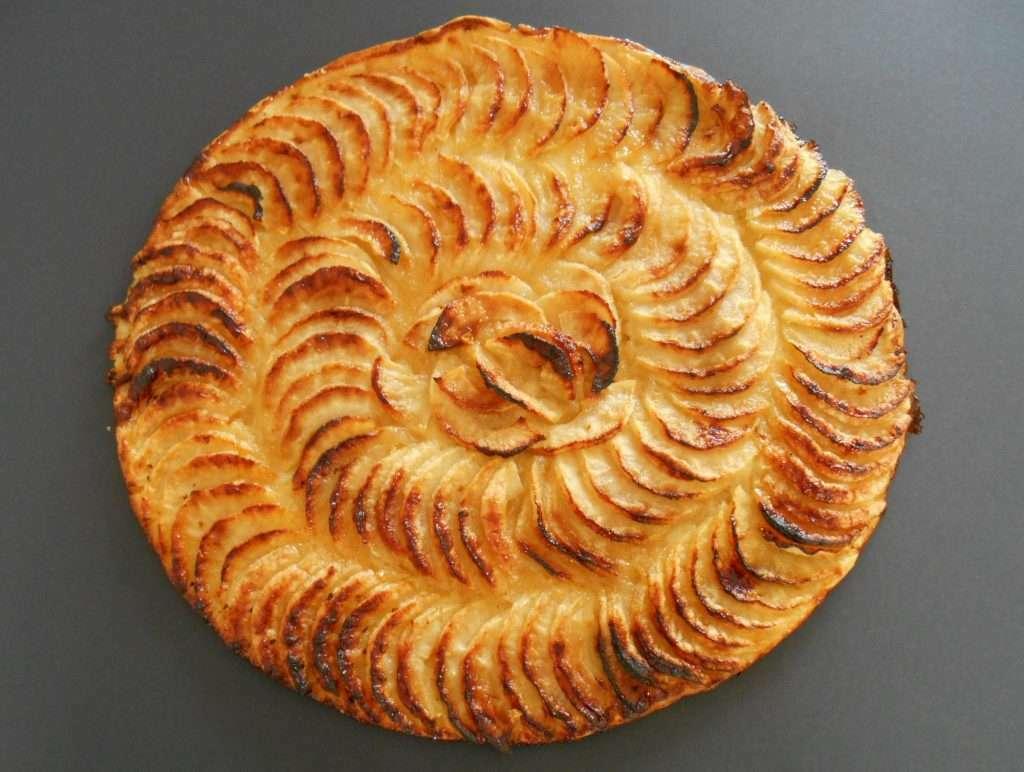 Tarte fine aux pommes compote recette ptitchef - Tarte aux pommes compote maison ...