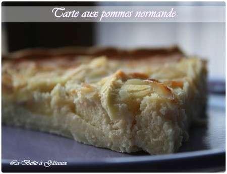 Tarte normande aux pommes recette ptitchef - Recette tarte au pomme normande ...