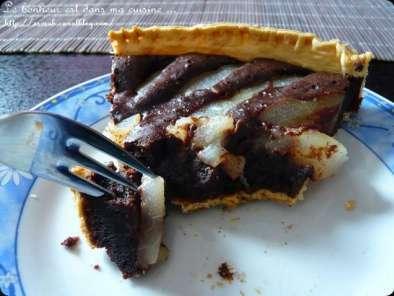 Tarte poires chocolat sans lactose recette ptitchef - Tarte poire chocolat sans oeuf ...