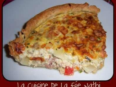 Tarte Salee Thon Poivron Mozza Recette Ptitchef
