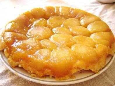 Tarte tatin aux pommes beurre demi sel glace vanille maison recette ptitchef - Beurre demi sel maison ...