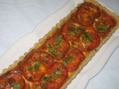 Tarte Thon Tomate Et Sa Pate Brisee A L Huile D Olive Et Aux Herbes