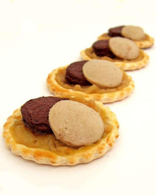 Tartelettes aux deux boudins pour un ap ritif dinatoire - Dessert pour apero dinatoire ...