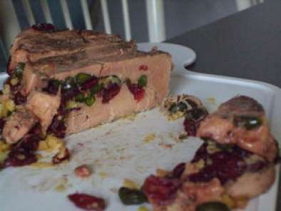 Terrine de foie gras aux cranberries, Photo 2