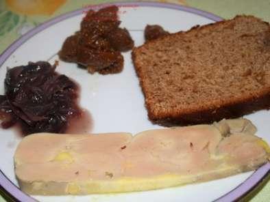 Terrine de foie gras maison et ses accompagnements recette ptitchef - Foie gras maison en terrine ...