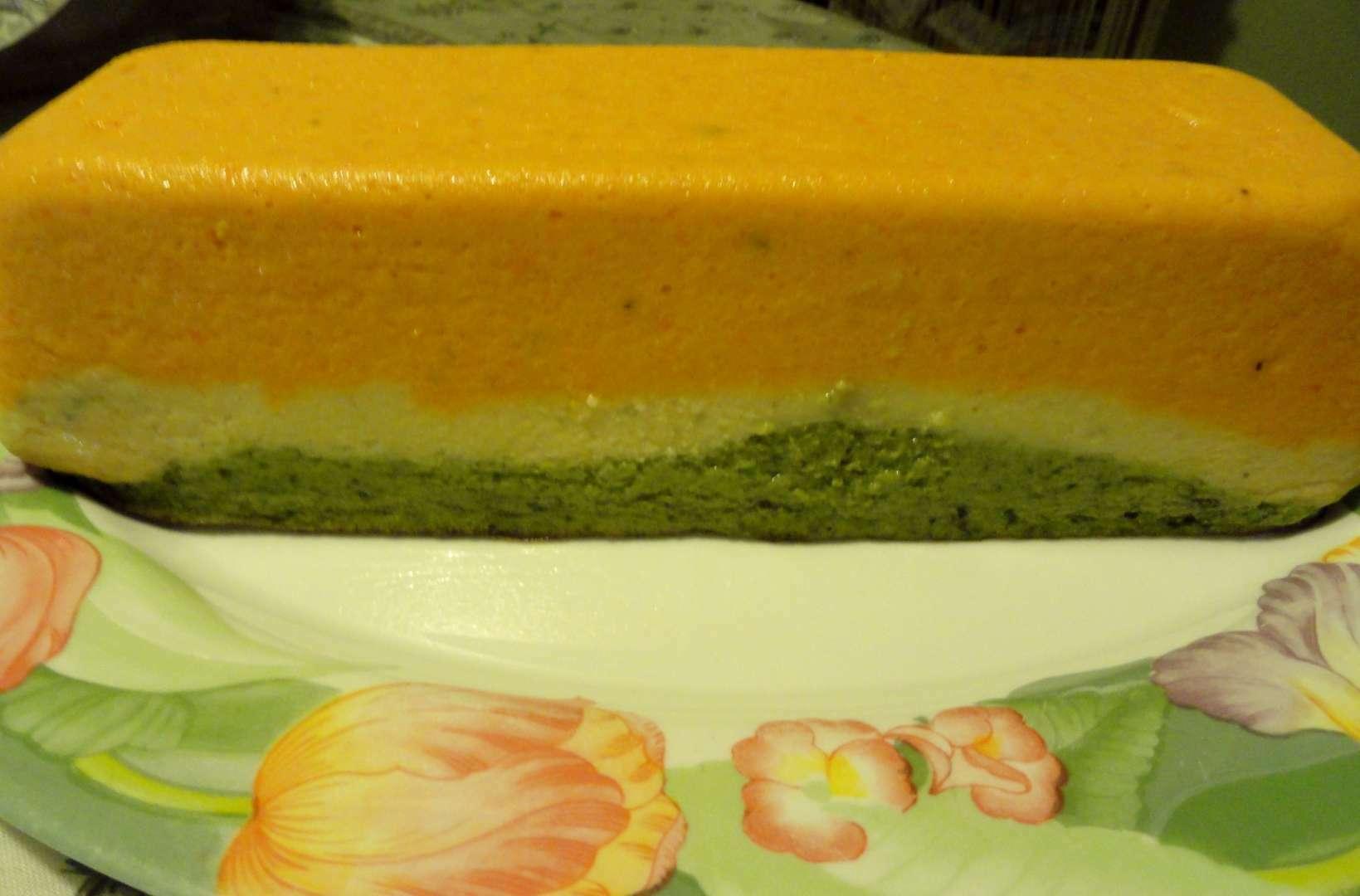 Terrine de l gumes aux 3 couleurs recette ptitchef - Terrine de legumes facile et rapide ...