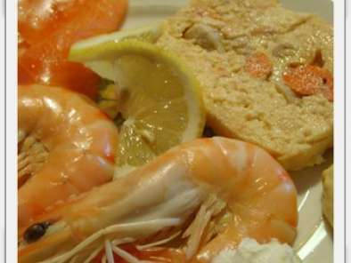 Terrine de saumon aux noix de st jacques, Recette Ptitchef