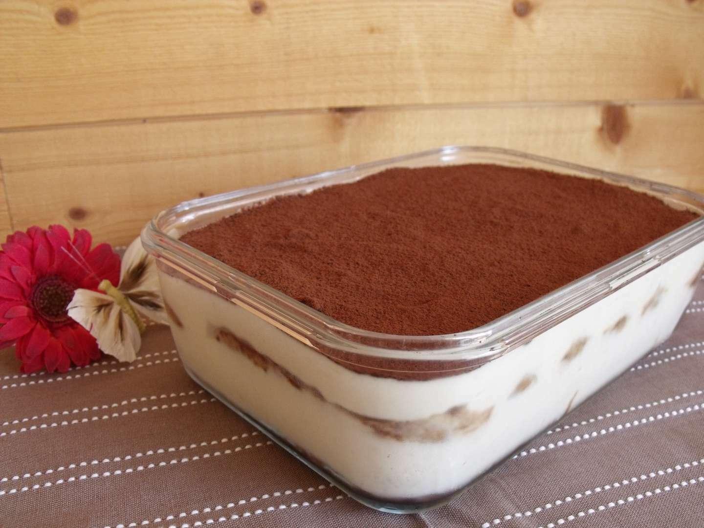 Tiramisu au chocolat (recette tupperware) - Recette Ptitchef