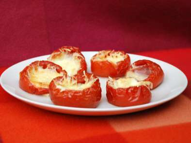tomates farcies la mozzarella recette ptitchef. Black Bedroom Furniture Sets. Home Design Ideas