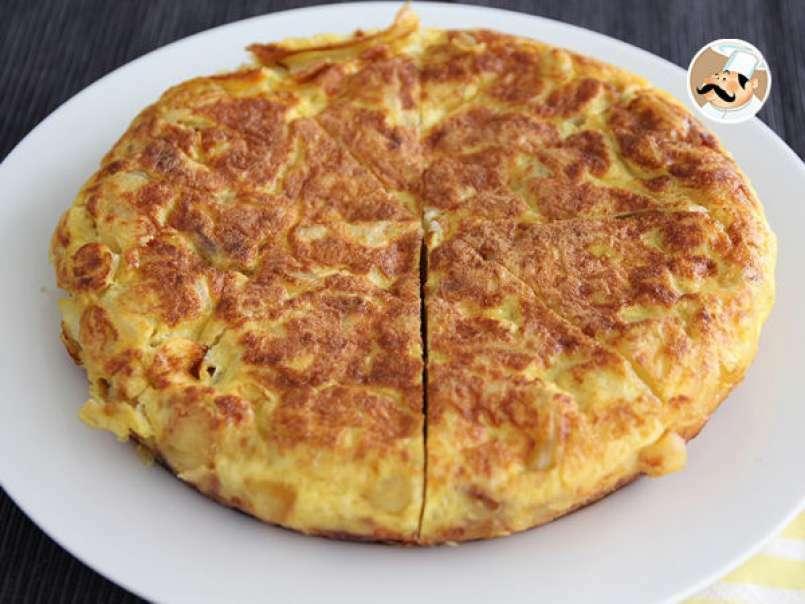 Tortilla Espagnole Pommes De Terre Et Oignons Recette Ptitchef