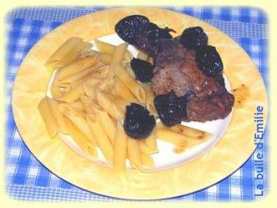 Une petite recette sympa la rouelle de porc aux pruneaux for Petite entree sympa