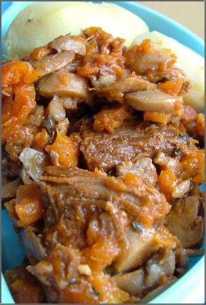 Veau marengo express et l ger recette ptitchef - Plat facile et leger ...